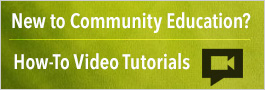 How-to video tutorials