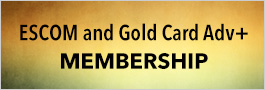ESCOM and Gold Card Adv+ Membership
